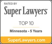Mark Briol Super Lawyers Top 10 Minnesota